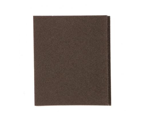 Шлифлист на тканевой основе, P 60, 230 х 280 мм, 10 шт, влагостойкий Сибртех