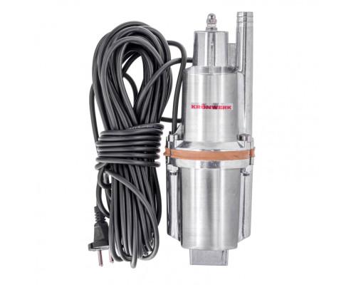 Вибрационный насос KVP300-15, 1080 л/ч, подъем 70 м, кабель 15 метров Kronwerk