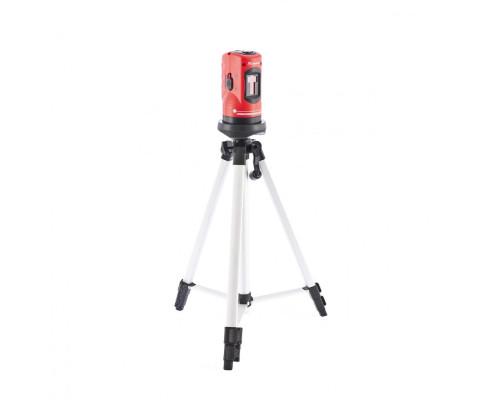 Уровень лазерный, 100 мм, штатив 1260 мм, самовыравнивающийся Matrix