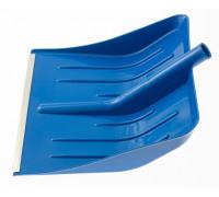 Лопата для уборки снега пластиковая, синяя, 400 х 420 мм, без черенка, Россия Сибртех