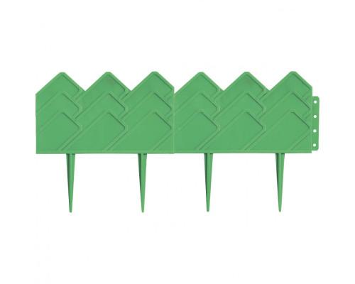 "Бордюр ""Кантри"", 14х310 см, зеленый, Россия Palisad"