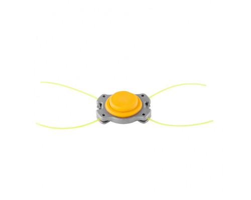 Головка триммерная универсальная алюминий, шайба 8 мм, 10 мм Denzel