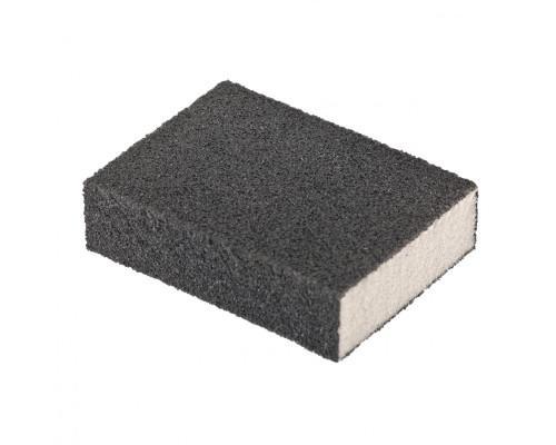 Губка для шлифования, 100 х 70 х 25 мм, средняя плотность, P 100 Matrix