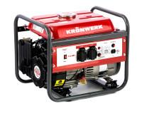 Генератор бензиновый LK 1500, 1.2 кВт, 230 В, бак 6 л, ручной старт Kronwerk