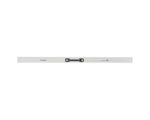 Линейка-уровень, 1200 мм, металлическая, пластмассовая ручка 2 глазка Matrix Master