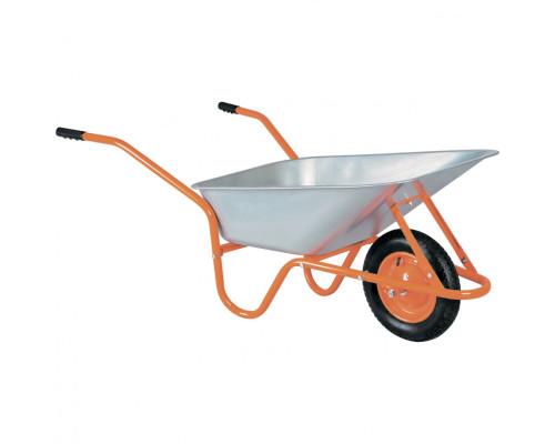 Тачка садово-строительная ТСО-02-03, ОЦ, 1 цельнолитое колесо, 120 кг, 90 л Россия