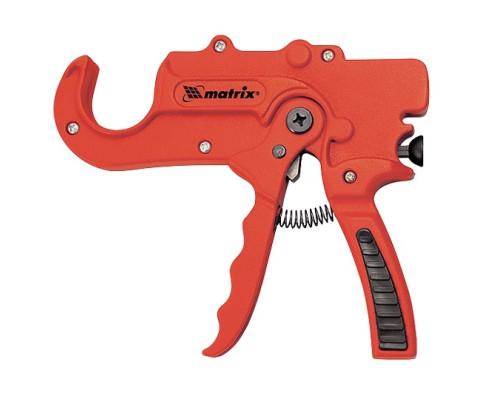 Ножницы для резки изделий из ПВХ, пистолетного типа, D до 36 мм, обрезиненная опорная рукоятка, порошковое покрытие Matrix