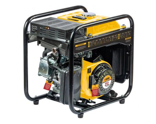 Генератор инверторный GT-3500iF, 3,5 кВт, 230 В, бак 5 л, открытый корпус,  ручной старт Denzel