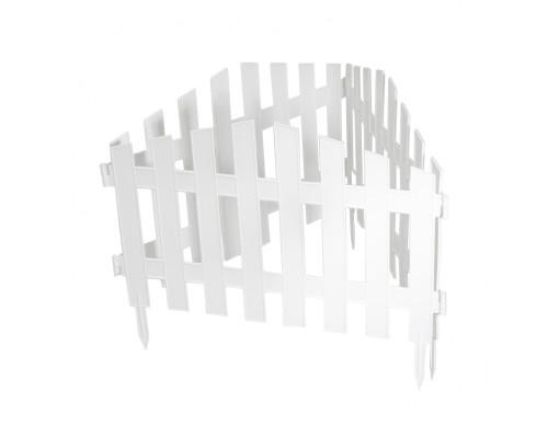 """Забор декоративный """"Марокко"""", 28х300 см, белый, Россия Palisad"""