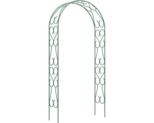Арка садовая разборная «Узорная широкая» 2,5 х 0,38 х 1,2 м Россия