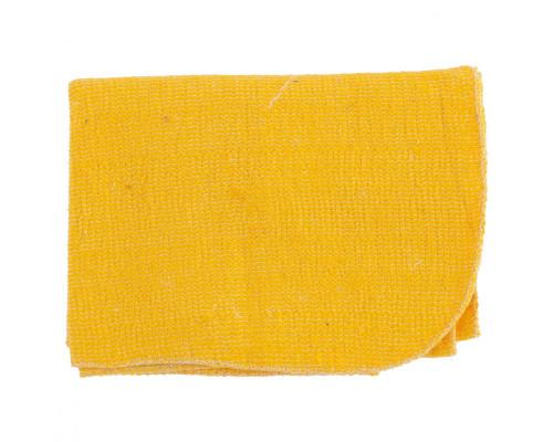 Салфетка для пола х/б желтая 500 х 700 мм Россия Elfe