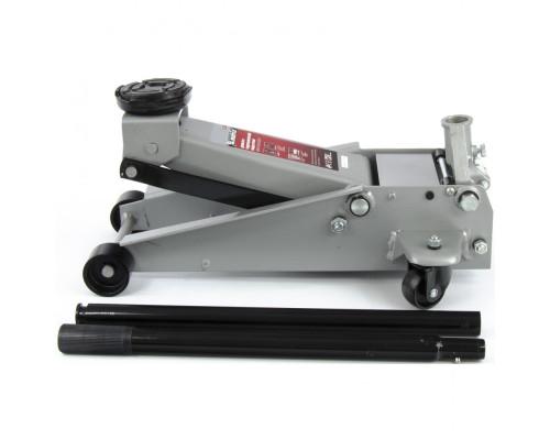 Домкрат гидравлический подкатной профессиональный, быстрый подъем, 3 т, 130-465 мм. Quick Matrix