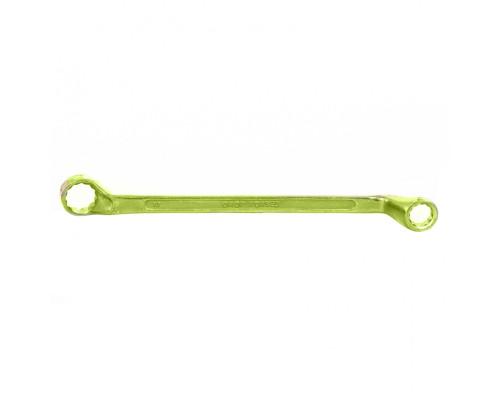 Ключ накидной, 13 х 17 мм, желтый цинк Сибртех