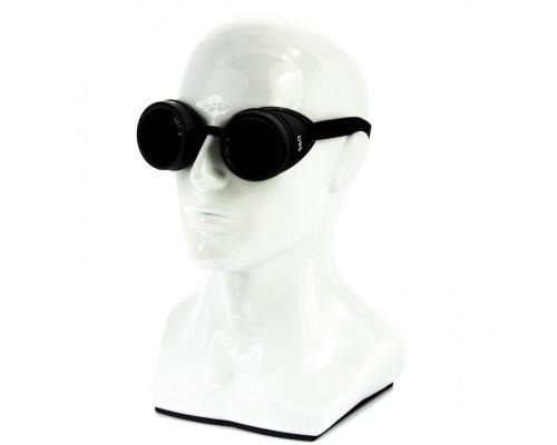 """Очки газосварщика """"Стандарт"""" с затемненным минеральным стеклом Сибртех"""