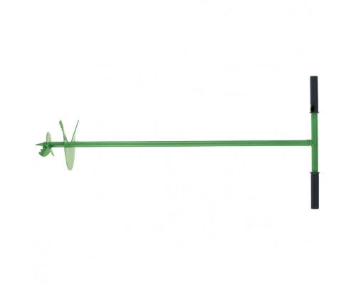 Бур садовый шнековый, 1085 мм, диаметр 150 мм, Россия Сибртех