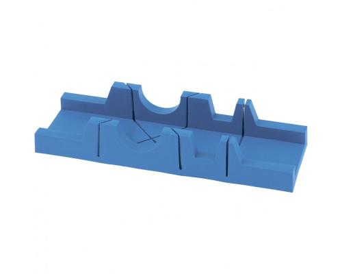 Стусло пластиковое, 295 х 65 мм, 3 угла для запила Сибртех