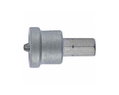 Бита PH2 x 25 мм с ограничителем для ГКЛ, 2 шт, CrMo Сибртех