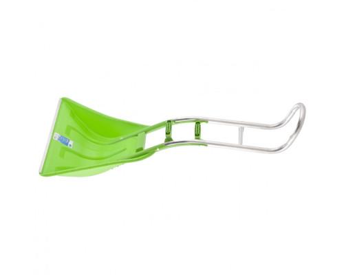 Движок для уборки снега пластиковый, 670х530х1410 мм, алюминиевая рукоятка, Россия Сибртех