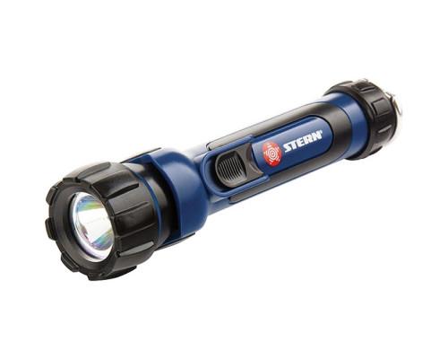 Фонарик светодиодный, противоударный, влагозащищенный, 1 яркий Led, 2 х АА Stern