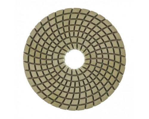 Алмазный гибкий шлифовальный круг ,100 мм, P50, мокрое шлифование, 5 шт. Matrix