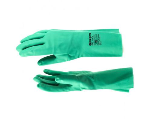 Перчатки резиновые технические маслобензостойкие, XL Сибртех