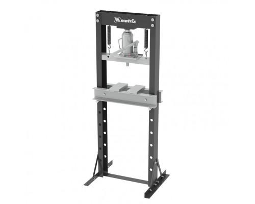 Пресс гидравлический, 20 т, 640 х 540 х 1500 мм. (комплект из 2 частей) Matrix