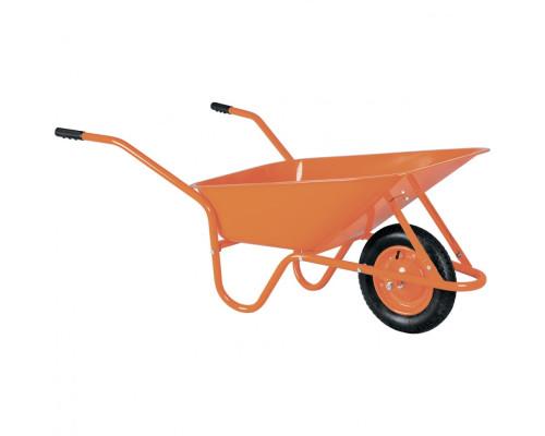 Тачка садово-строительная ТСО-02, крашенная, 1 пневмоколесо, 120 кг, 90 л Россия