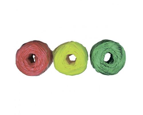 Набор шпагатов полипропиленовых, 6 шт, х 60 м, разные цвета, 1200 текс, 50 кгс Россия Сибртех