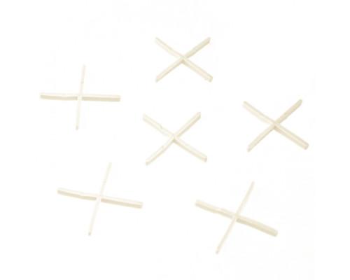 Крестики 1 мм, для кладки плитки, 100 шт Сибртех