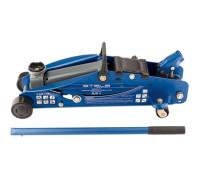Домкрат гидравлический подкатной с фиксатором, 2,5 т, Safety Pin, 140-385 мм, в кейсе Stels