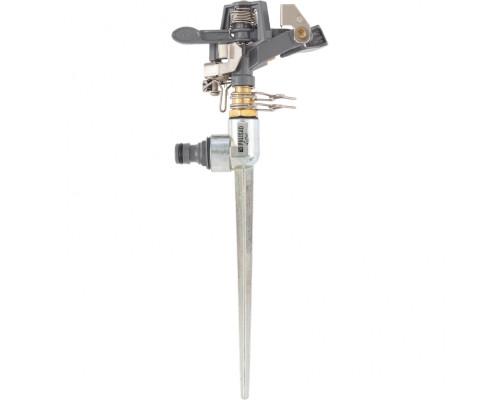 Разбрызгиватель импульсный, латунный, со штырем Palisad Luxe