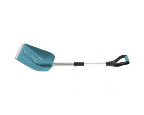 Лопата для уборки снега пластиковая LUXE,270х310х760-960 мм, телескопический черенок, Palisad