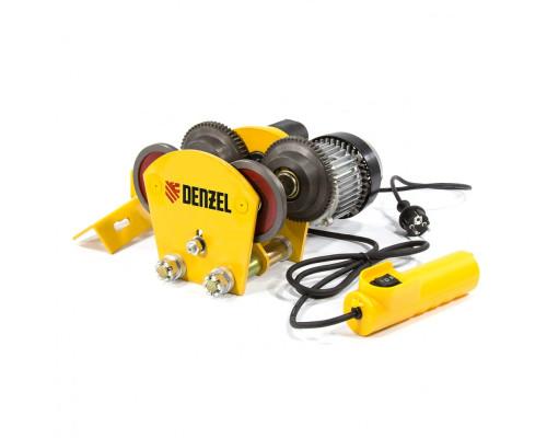 Каретка электрическая для тельфера Т-1000,1 т, 540 Вт Denzel