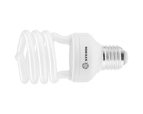 Лампа компактная люминесцентная, полуспиральная, 26 W, 2700K, E27, 8000ч Stern