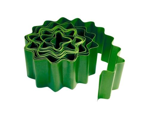 Бордюрная лента, 10х900 см, полипропиленовая, зеленая, Россия Palisad
